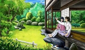 Naoko and Jiro <3