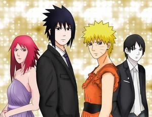 Naruto Shippuden Karin Sai Naruto Sasuke
