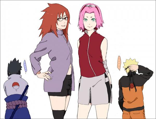 karin and Sakura sasuke