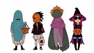 Naruto Shippuden Team Taka Halloween