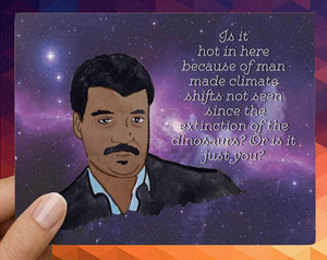 Neil Degrasse Tyson l'amour Card