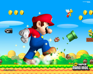 New Super Mario Bros. Background