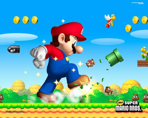 Mario Background Hd