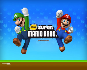 New Super Mario Bros. Background