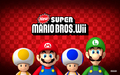 New Super Mario Bros. Wii Background