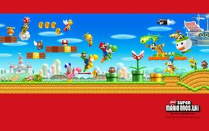 New Super Mario Bros. Wii Background