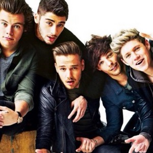 Niall, Louis, Liam, Zayn, and Harry