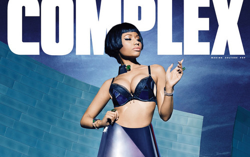 Nicki Minaj wallpaper possibly with a bikini, a brassiere, and a lingerie called Nicki Minaj Complex magazine