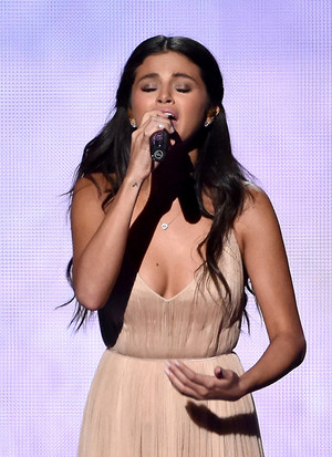 Nov 23: Selena performing The Heart Wants What It Wants at the 2014 AMA's