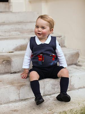 Official Prince George Krismas foto-foto