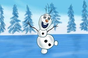 Olaf - Fanart.