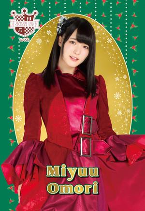 Omori Miyu - AKB48 Christmas Postcard 2014