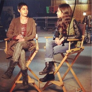 On the set of The Scorch Trials