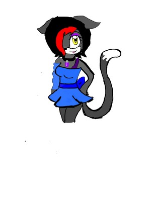 Opal the cat