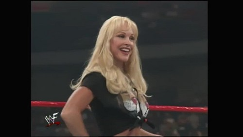 anterior diva wwe...debra fondo de pantalla possibly with attractiveness, a bustier, and a leotard titled Over The Edge 1999