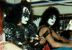 Paul Stanley and Gene Simmons 1980