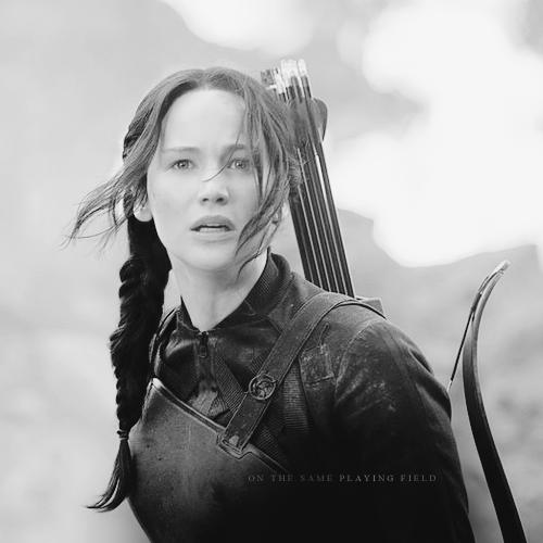 Peeta/Katniss Fanart - Mockingjay