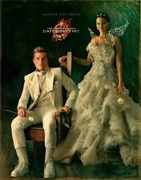 Peeta with Katniss