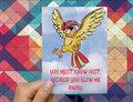 Pidgeotto Pokemon Love Card - pokemon photo