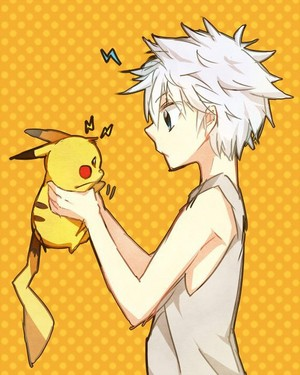 pikachu and Killua