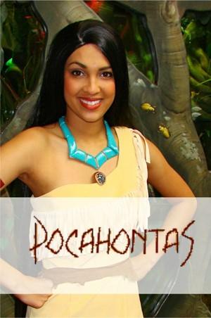 Pocahontas Autograph