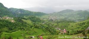 Podu Dambovitei Romania Carpathian mountains