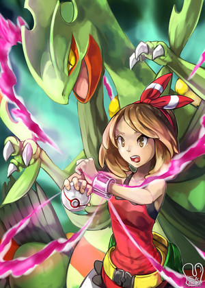 Pokemon : Mega Sceptile
