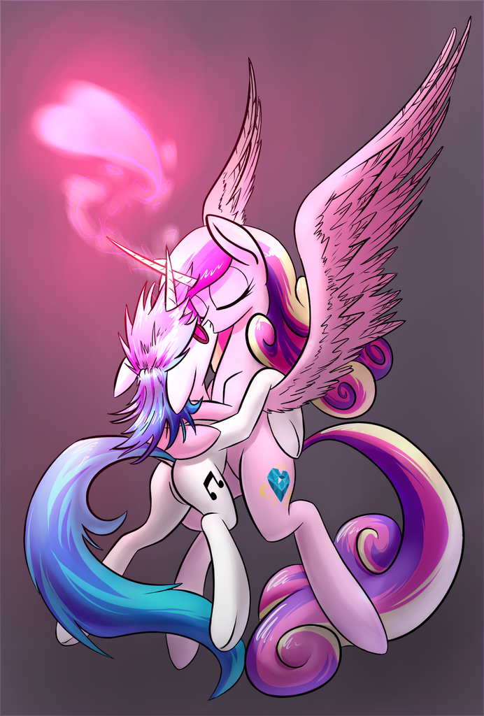 Princess Cadence and Shining Armor