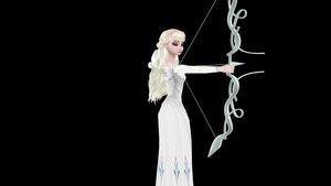 queen Elsa - fan Art.