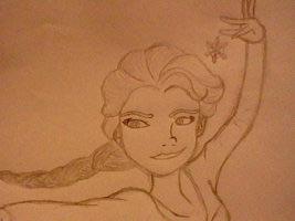 reyna Elsa - tagahanga Art.