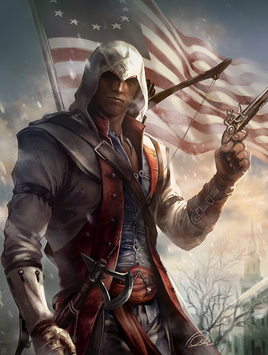 비디오 게임 바탕화면 called Ratonhnhaké:ton AKA Connor Kenway