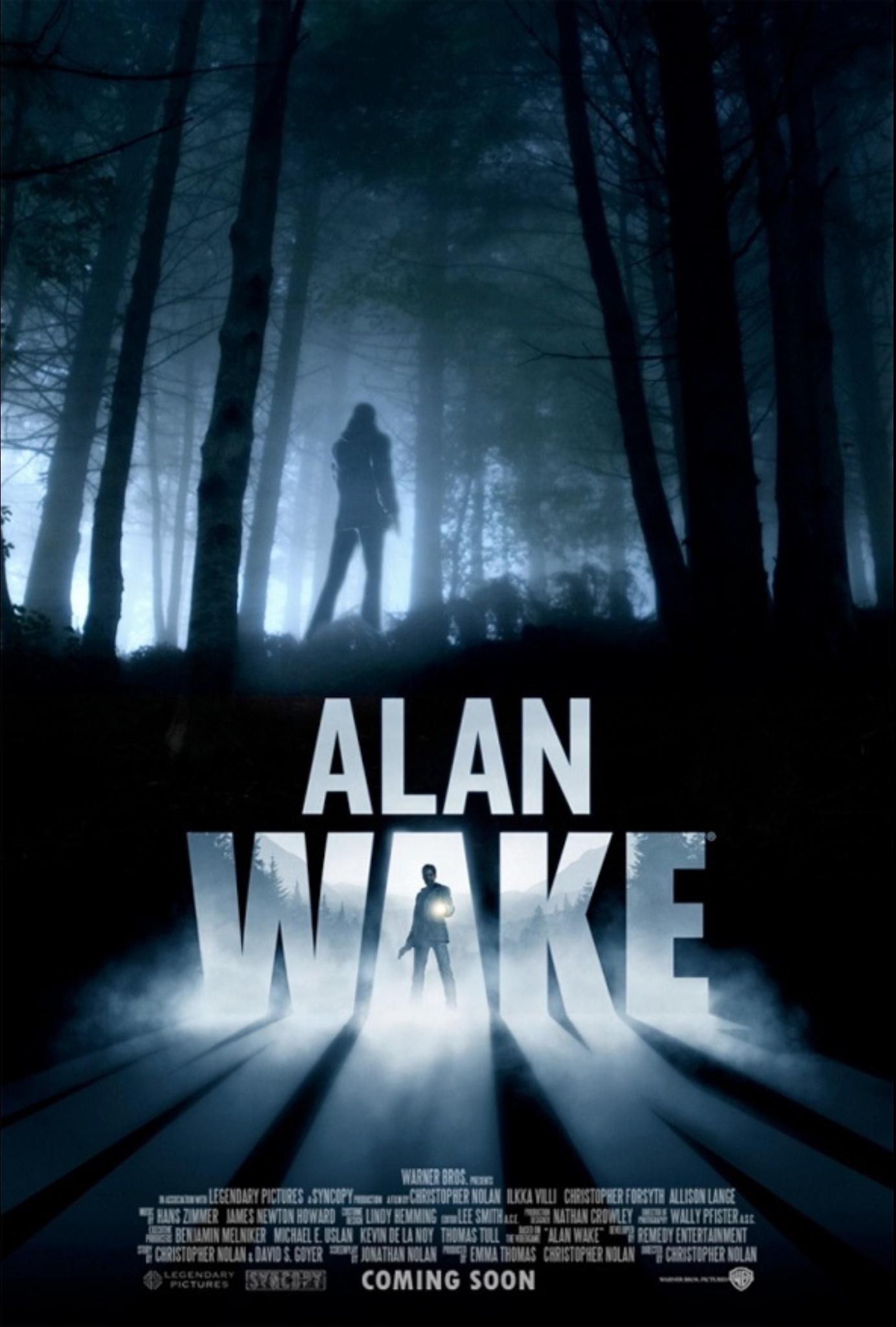 Real Video Game, Fake Movie Poster | Alan Wake