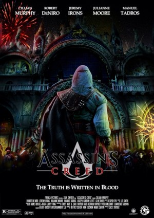Real Video Game, Fake Movie Poster | Assassin's Creed