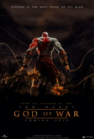 Real Video Game, Fake Movie Poster | God of War