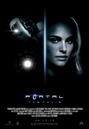 Real Video Game, Fake Movie Poster | Portal