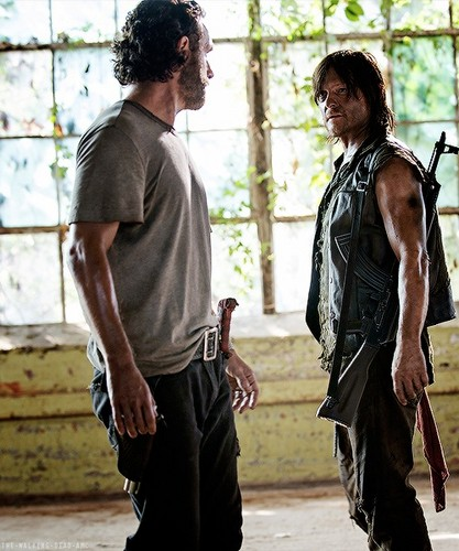 The Walking Dead images Rick and Daryl wallpaper and ...