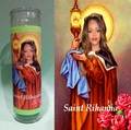 Rihanna Prayer Candle - rihanna fan art