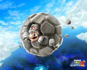 Rock Mario Background