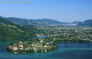 Romania Piatra Neamt city Moldova