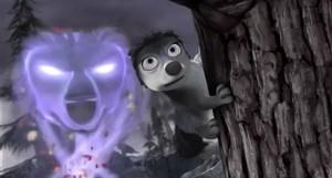 Runt and the ghost chó sói, sói