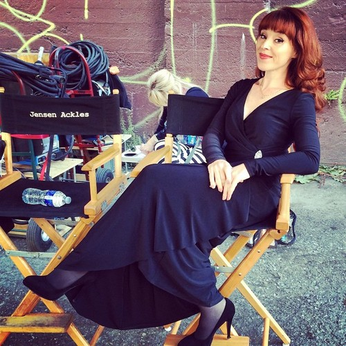 Supernatural wallpaper called Ruth Connell Behind The Scenes