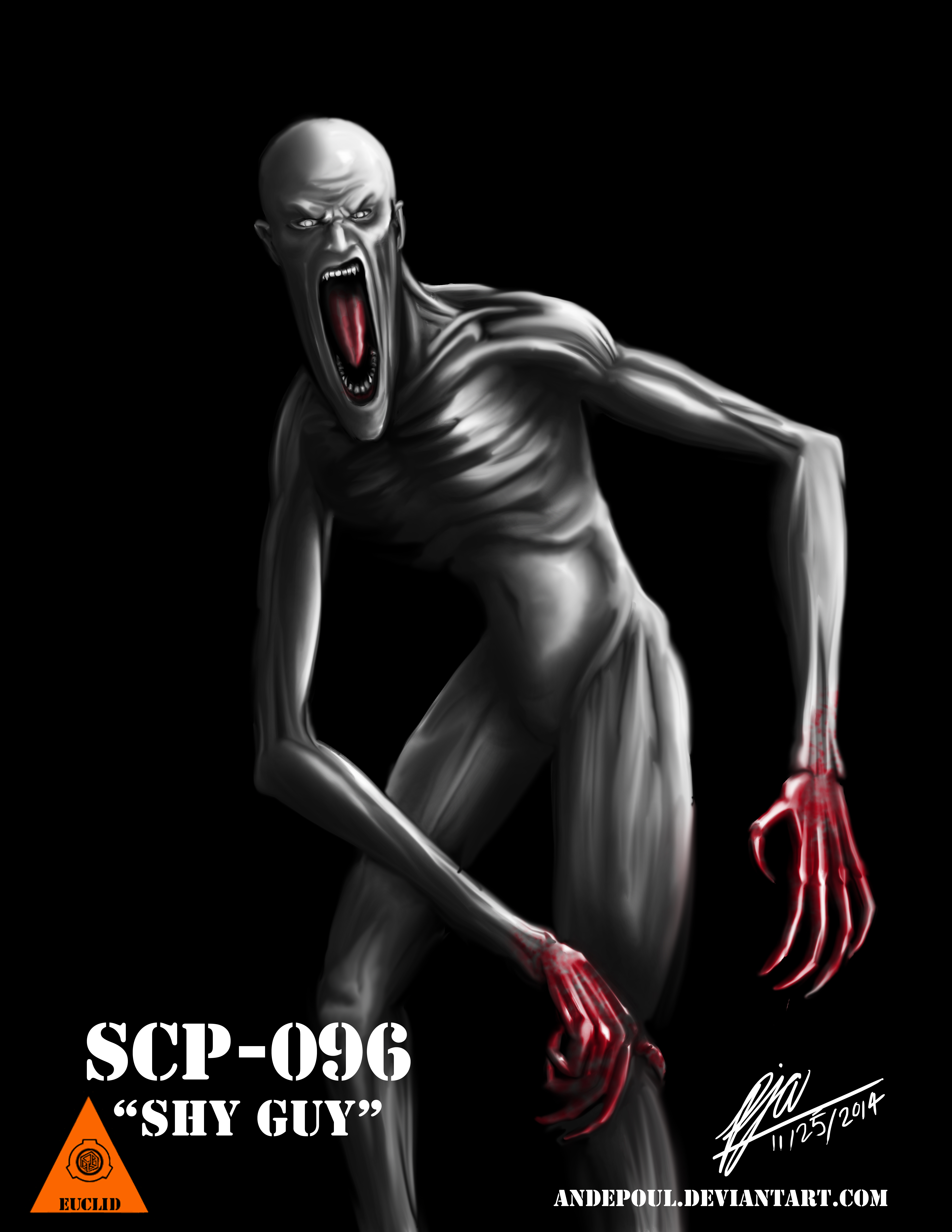 """SCP-096 - The """"Shy Guy"""""""