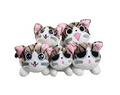 STUFFED STAR KITTY - toy-collecting photo