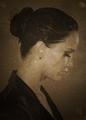 Sad Vintage portrait - jennifer-lawrence fan art