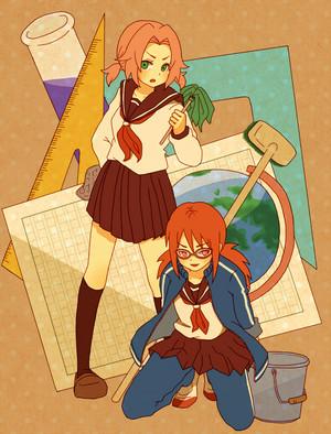 SakuKarin Naruto Shippuden