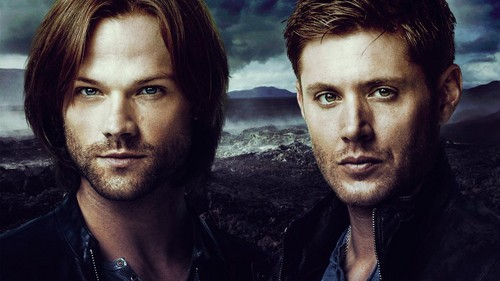 Supernatural wolpeyper called Sam and Dean