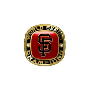 San Francisco Giants 2014 Championship 粉丝 Ring