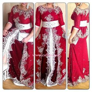 Sari fabric turned in to Arabian dress