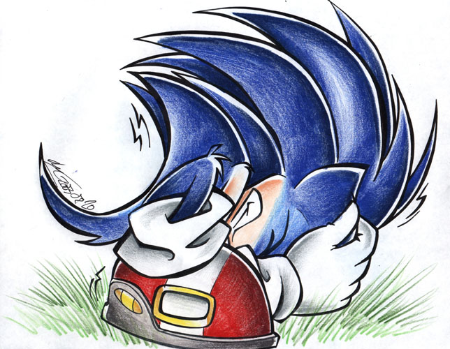 Scared Sonic <