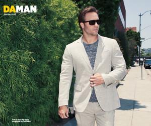 Scott Porter// Da Man Magazine